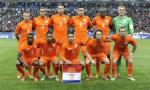 Teamfoto Nederlands elftal