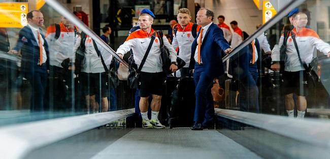 Oranje vertrekt naar Portugal